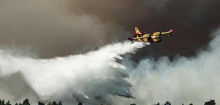 Για τρίτη ημέρα καίει η φωτιά στην Εύβοια – Σε χαράδρα το κύριο μέτωπο