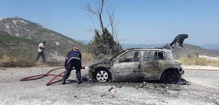 Άμεση επέμβαση ΣΠΑΠ για την κατάσβεση πυρκαγιάς σε Ι.Χ. λίγο πριν εξαπλωθεί στο Πεντελικό