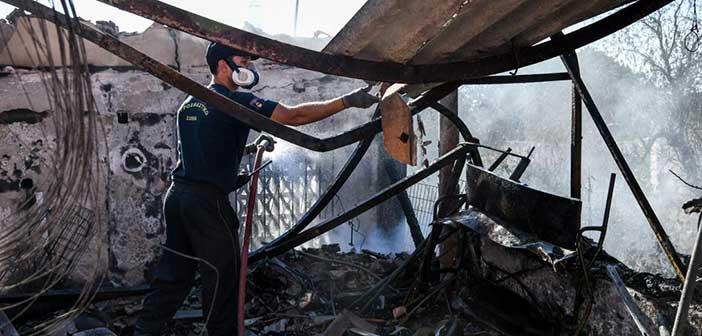 Φωτιά ξέσπασε στον Υμηττό – Σε ύφεση το μέτωπο – Καταγγελίες για ταυτόχρονες εκρήξεις