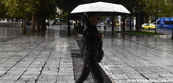 Σε ποιες περιοχές έρχονται βροχές και καταιγίδες