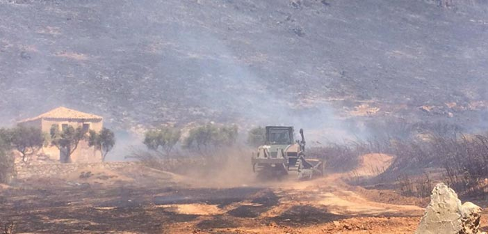 Σε κατάσταση έκτακτης ανάγκης η Ελαφόνησος μετά την καταστροφική πυρκαγιά