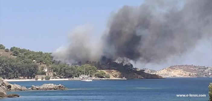 Πυρκαγιές σε Λέρο, Ηλεία, Αρκαδία, Ασπρόπυργο, Κέρκυρα