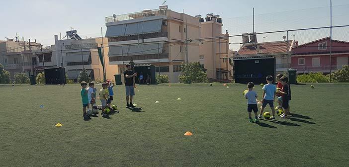 Εγγραφές στις Ακαδημίες Ποδοσφαίρου του Δήμου Ηρακλείου Αττικής για αγόρια και κορίτσια