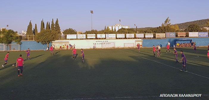 3-0 νίκησε… φιλικά τον Παθιακάκη ο Απόλλων Χαλανδρίου