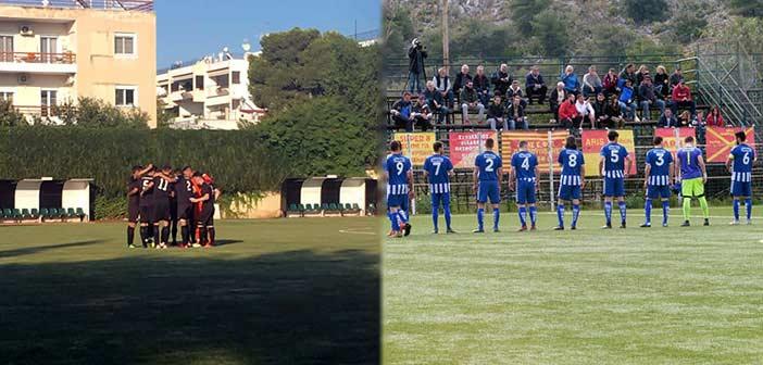 Η Αγία Παρασκευή επιβλήθηκε με 4-0 του Απόλλωνα Χαλανδρίου