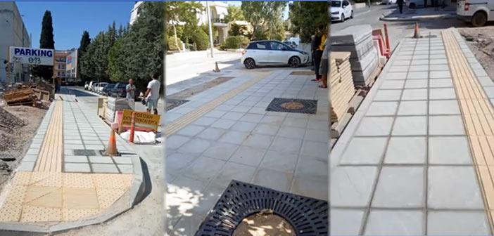 Μετά από 20 χρόνια, η οδός Δαναών στα Βριλήσσια έγινε και πάλι προσβάσιμη