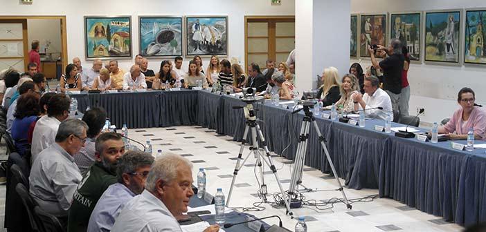 Συνεδρίαση Δημοτικού Συμβουλίου Αμαρουσίου στις 23 Οκτωβρίου