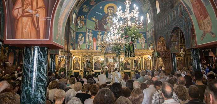 Με λαμπρότητα ο εορτασμός του Αγίου Ευσταθίου στον Περισσό