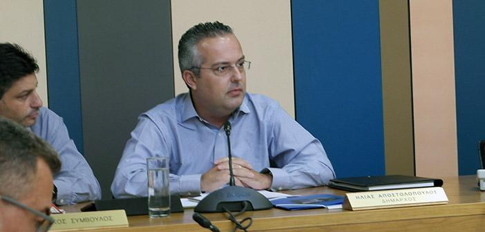 Με ενωτική διάθεση ο Ηλ. Αποστολόπουλος στο Δ.Σ. Παπάγου – Χολαργού