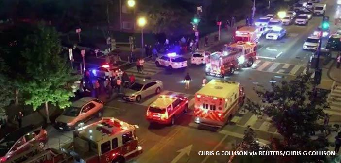 ΗΠΑ: Ένας νεκρός και πέντε τραυματίες από τους πυροβολισμούς κοντά στον Λευκό Οίκο