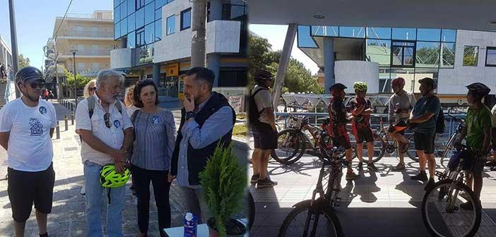 Ο Δήμος Ηρακλείου Αττικής υποδέχθηκε τους συμμετέχοντες στην ποδηλατοδρομία της Βόρειας Αθήνας