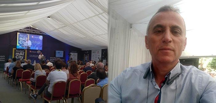Στο «1ο Restart mAI City» ο Β. Καραβάκος, ως αυτοδιοικητικός, αλλά και δημοσιογράφος…