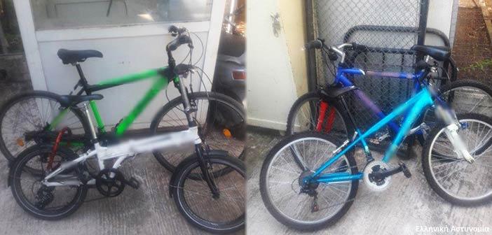 Συλλήψεις για κλοπές ποδηλάτων στο Νέο Ψυχικό