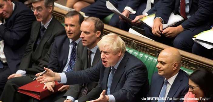 Βρετανία: Διπλό κοινοβουλευτικό πλήγμα για τον Τζόνσον