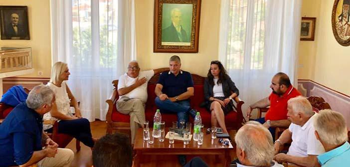 Γ. Πατούλης: Η Περιφέρεια Αττικής δίνει έμφαση στις προοπτικές ανάπτυξης της Αίγινας