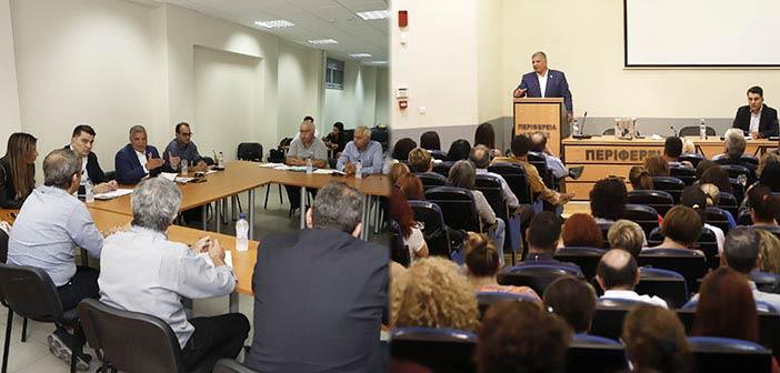 Γ. Πατούλης από Κεντρικό Τομέα: Σε ζητήματα δημόσιας υγείας και κοινωνικής πρόνοιας θα επιδείξουμε μηδενική ανοχή
