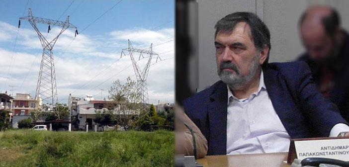Δημοτική Συμμαχία: Προχωρά το «mega-project» της μεταφοράς των πυλώνων της ΔΕΗ στη Ν. Πεντέλη
