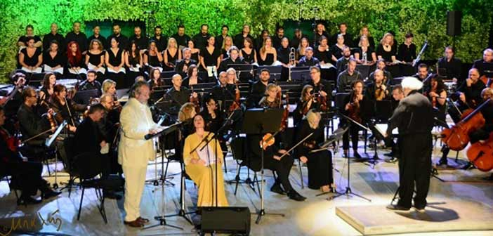 Πλήθος κόσμου στη συναυλία του Γ. Μαρκόπουλου στο Κηποθέατρο Παπάγου