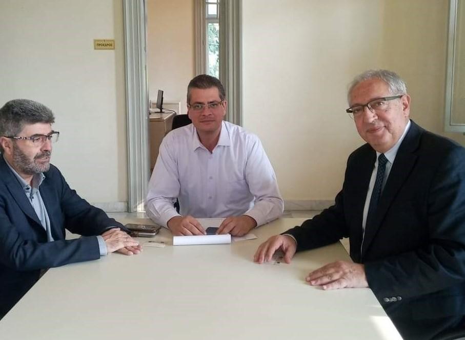 Για την ανάπτυξη νέων χρηματοδοτικών εργαλείων συζήτησαν δήμαρχος Αμαρουσίου – πρόεδρος Πράσινου Ταμείου