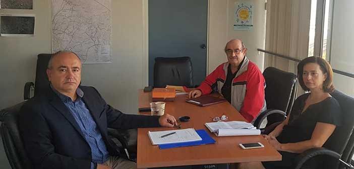 Για έργα του Ηρακλείου Αττικής συζήτησαν Ν. Μπάμπαλος και Λ. Κεφαλογιάννη