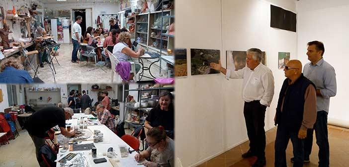 Ξεκίνησε το «Open studio week» των Εργαστηρίων Τέχνης Δήμου Αγίας Παρασκευής