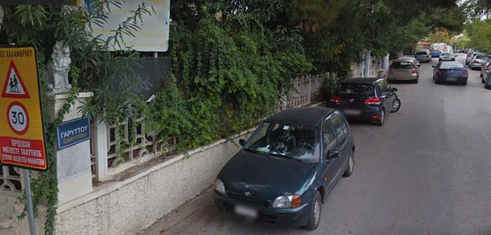 Διακοπή ρεύματος στην οδό Γαρυττού στο Χαλάνδρι στις 18 Οκτωβρίου