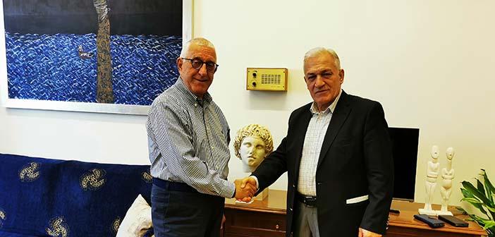 Συνάντηση Λ. Κυρίζογλου με τον Ν. Κακλαμάνη