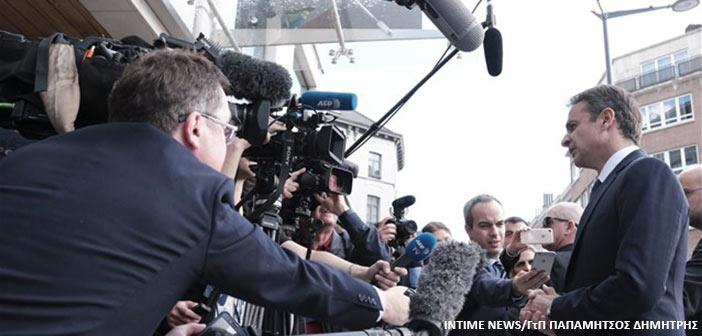 Κ. Μητσοτάκης: Η Ελλάδα και η Ευρώπη δεν μπορεί να εκβιάζονται από την Τουρκία
