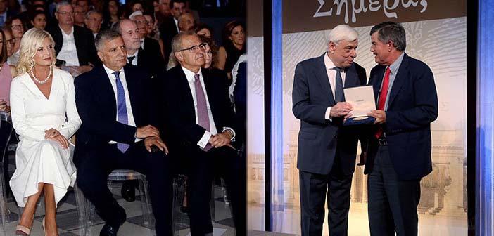 Στην εκδήλωση μνήμης για τον εθνικό ευεργέτη Ευαγγέλη Ζάππα η πρόεδρος του Ομίλου για την UNESCO Β.Π.