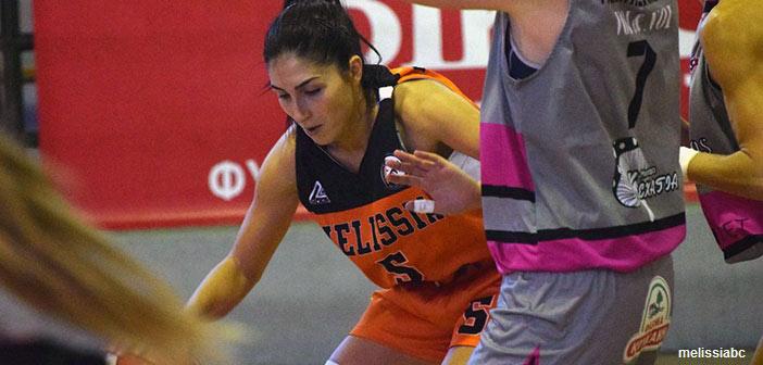 Πρώτη φετινή νίκη για τον ΚΑΟ Μελισσίων στην Α1 μπάσκετ Γυναικών