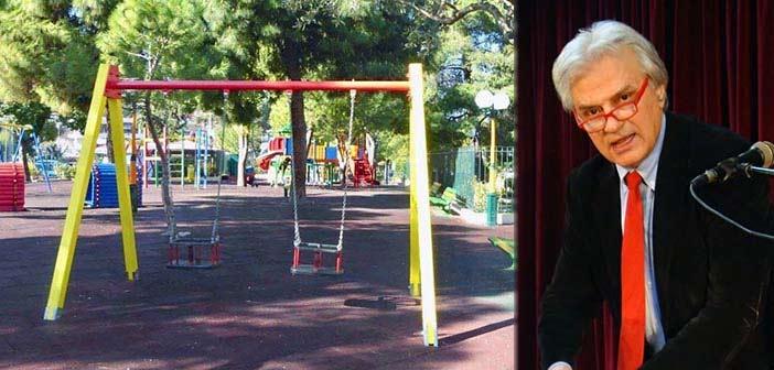 Γ. Σταθόπουλος: Δικό μας έργο και η αναβάθμιση-ανακατασκευή παιδικών χαρών