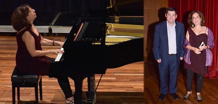 Τη διεθνούς φήμης πιανίστα Αλ. Παπαστεφάνου τίμησε ο Δήμος Λυκόβρυσης – Πεύκης