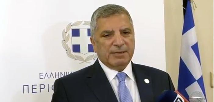 Γ. Πατούλης: Όταν μας ζητηθεί η γνώμη για τη μεταφορά προσφυγόπουλων στο «Αμ. Φλέμινγκ», θα τη δώσουμε…