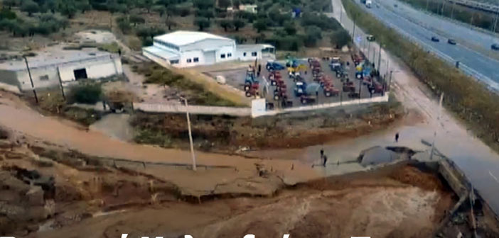 Ρεματιά Χαλανδρίου: Κάτοικοι ζουν με τον φόβο νέων πλημμυρών (βίντεο)