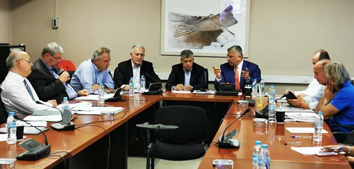 Σε συνεδρίαση του Δ.Σ. της ΕΝΠΕ ο υποψ. πρόεδρος της ΚΕΔΕ Λ. Κυρίζογλου