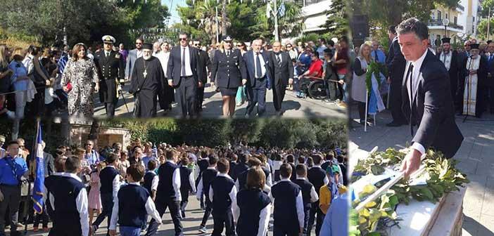 Με τη δέουσα λαμπρότητα οι εκδηλώσεις εορτασμού της 28ης Οκτωβρίου στα Βριλήσσια