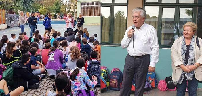 Δράσεις του Δήμου Αγίας Παρασκευής σε σχολεία για την Ημέρα των Ζώων