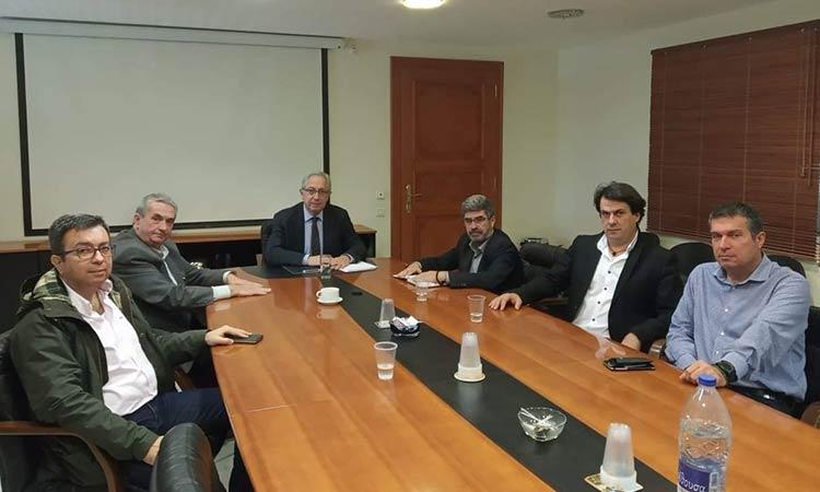 Συνάντηση δημάρχου Αμαρουσίου με στελέχη της ΕΛ.ΑΣ. για την ενίσχυση της ασφάλειας των πολιτών