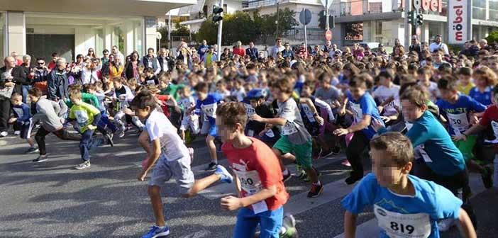 Αγώνας δρόμου μικρών παιδιών στην Αγία Παρασκευή την Κυριακή 10 Νοεμβρίου