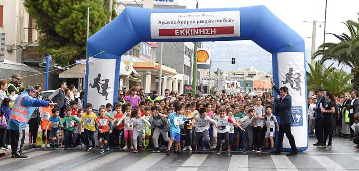 647 συμμετοχές στον Αγώνα Δρόμου Μικρών Παιδιών στον Δήμο Φιλοθέης – Ψυχικού