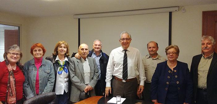 Συνάντηση Θ. Αμπατζόγλου με τον Εκδρομικό και Περιηγητικό Όμιλο Αμαρουσίου