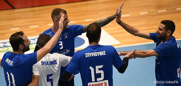 Πρώτη νίκη για τον ΑΟΠ Κηφισιάς στη Volley League – Νίκησε τον «ψυχωμένο» Εθνικό Αλεξανδρούπολης