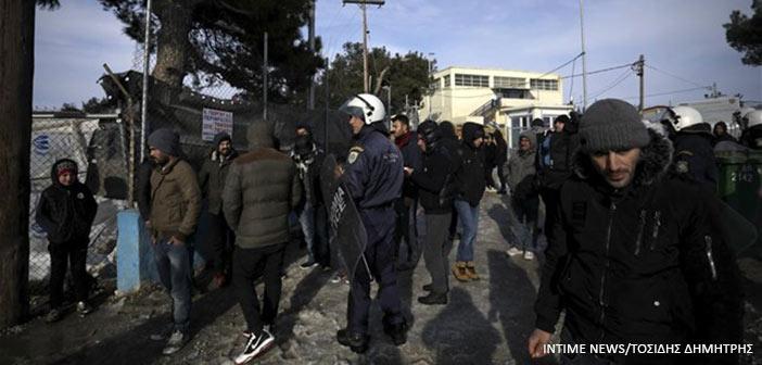 Θεσσαλονίκη: Συμπλοκή στη δομή προσφύγων στα Διαβατά – Τέσσερις τραυματίες