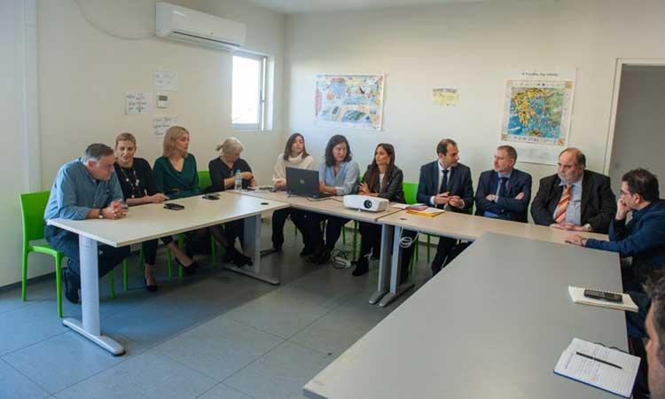 Επίσκεψη του γενικού γραμματέα Κοινωνικής Αλληλεγγύης στο Παράρτημα Ρομά Δήμου Χαλανδρίου