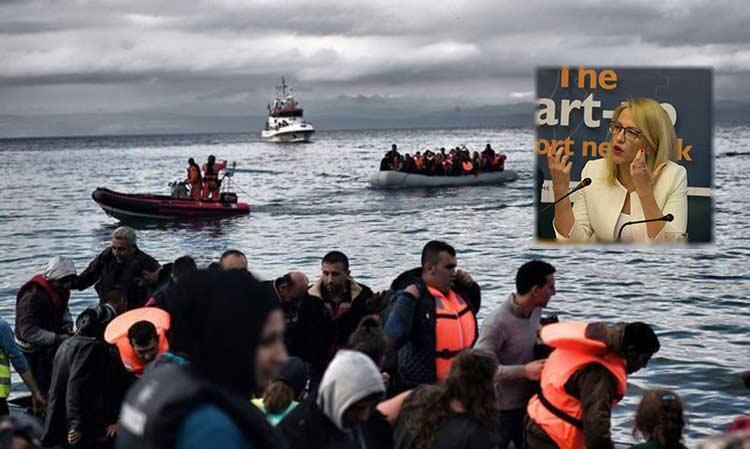 Συνεδρίαση ΕΝΠΕ: Η Ρένα Δούρου εξαπέλυσε «πυρά» κατά της κυβέρνησης για τη μεταναστευτική πολιτική της