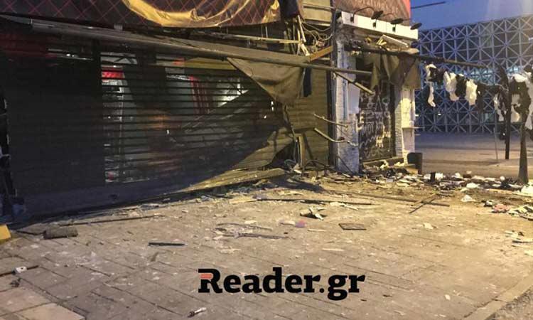 Έκρηξη βόμβας στο Γκάζι: Ισοπέδωσαν κατάστημα εμπορίας ερωτικών ειδών στην Ιερά Οδό