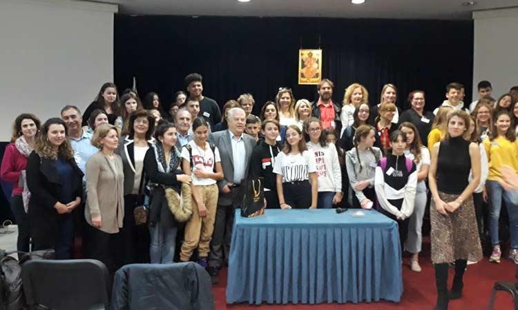 Αντιπροσωπεία προγράμματος Erasmus+ που έχει αναλάβει το 1ο Γυμνάσιο Αμαρουσίου φιλοξένησε ο Δήμος