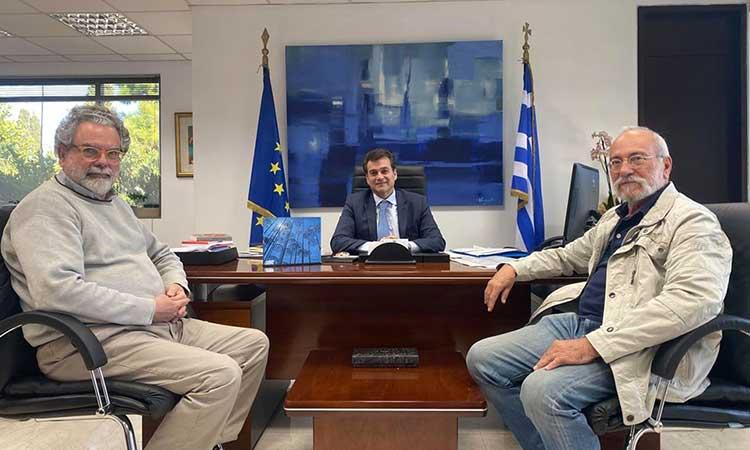 Στελέχη του Ιδρύματος Ζογγολόπουλου επισκέφθηκαν τον δήμαρχο Φιλοθέης – Ψυχικού