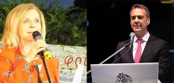 Η Ε. Κούτση πρόεδρος του ΚΕΜΜΕ και ο Γ. Παντελεάκης πρόεδρος της Ανθοκομικής Κηφισιάς