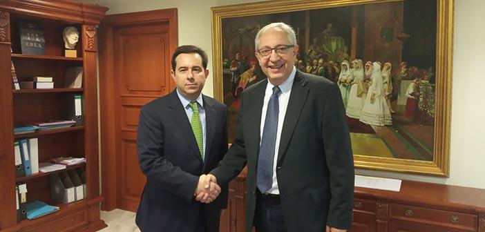 Συνάντηση δημάρχου Αμαρουσίου με τον υφυπουργό Εργασίας και Κοινωνικών Υποθέσεων